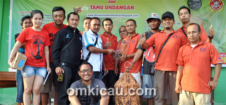 WMP Team juara umum bird club dalam HUT Ke-1 GPBC Sleman, Minggu (5/5).