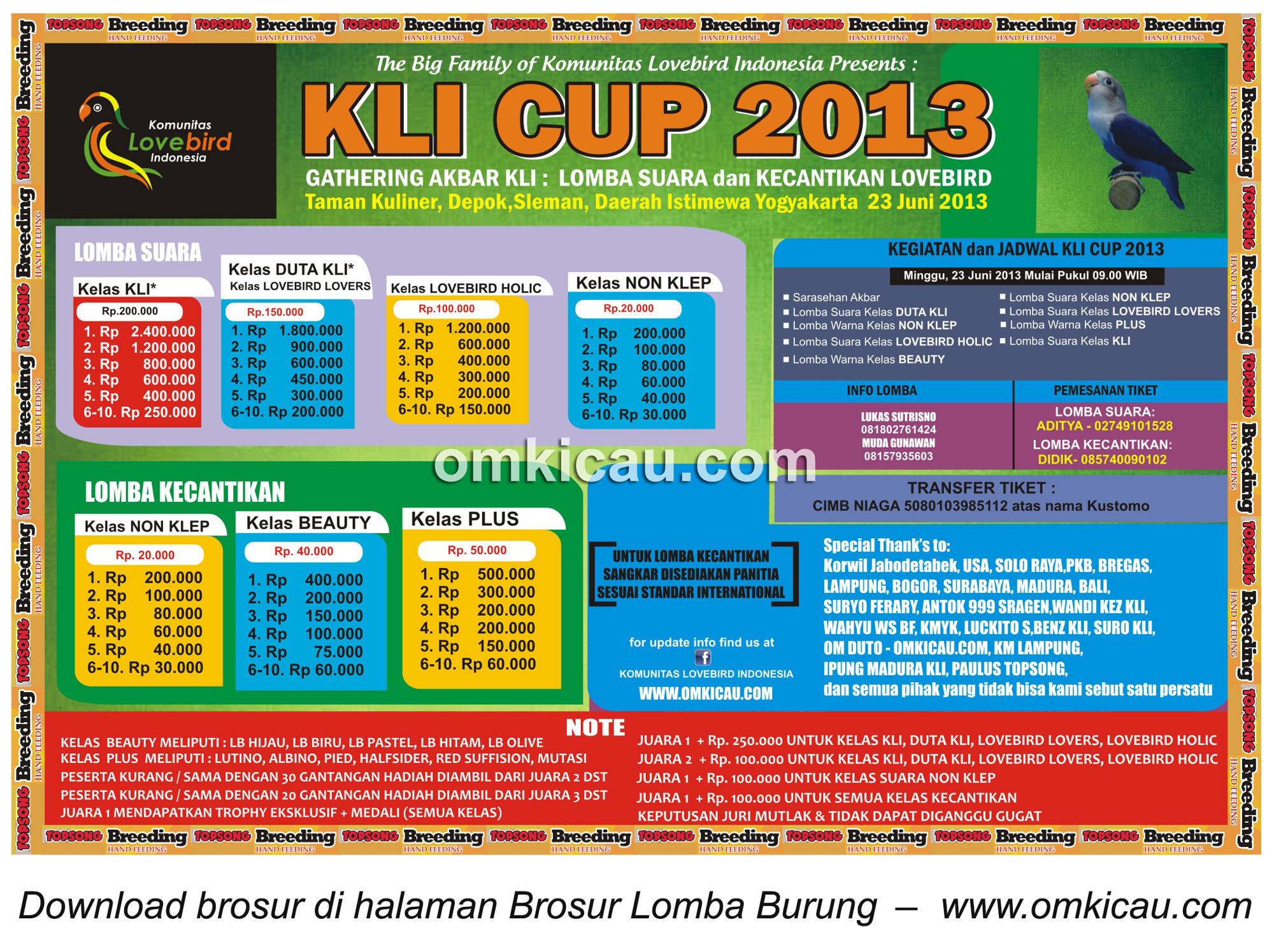 KLI Cup 2013