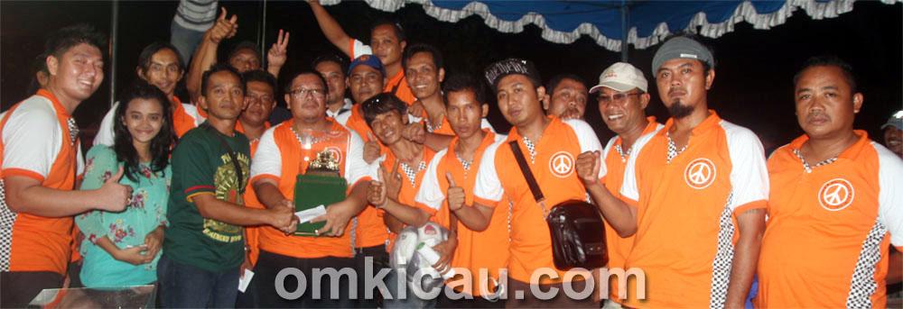 Mr Bali Peace sukses juara umum single fighter.