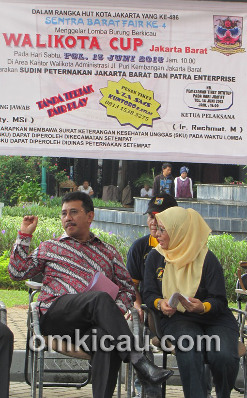 Lomba Burung Wali Kota Cup Jakarta Barat
