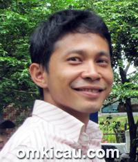 Anton, pemilik MB Trisula