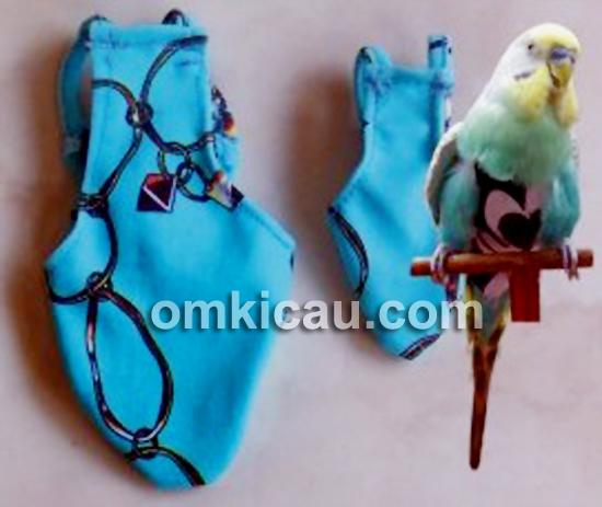 Popok burung parkit