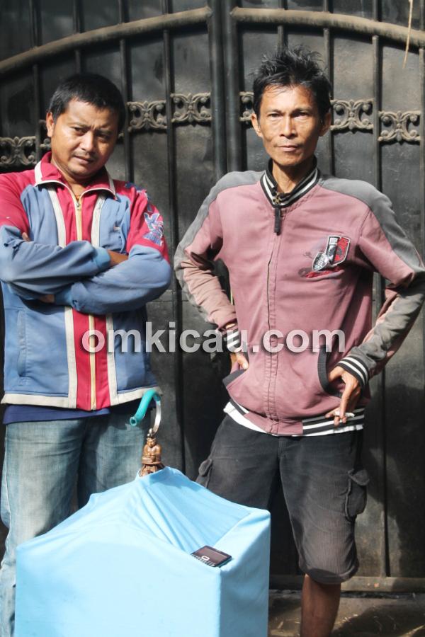 Rusdi Bintaro dan cucak hijau Bandir