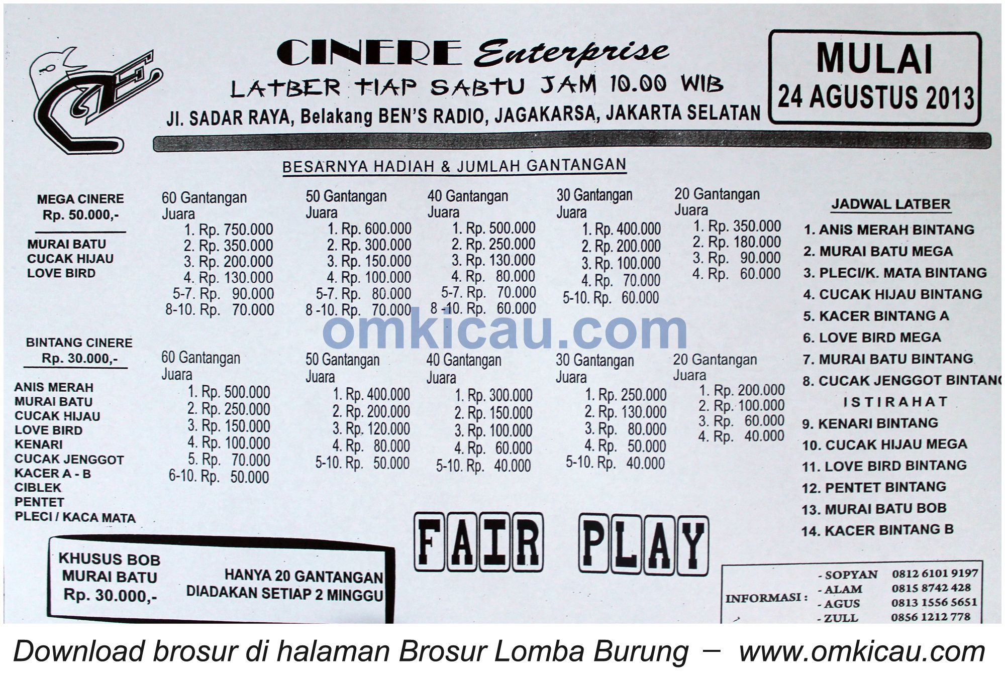 Latber Cinere Enterprise