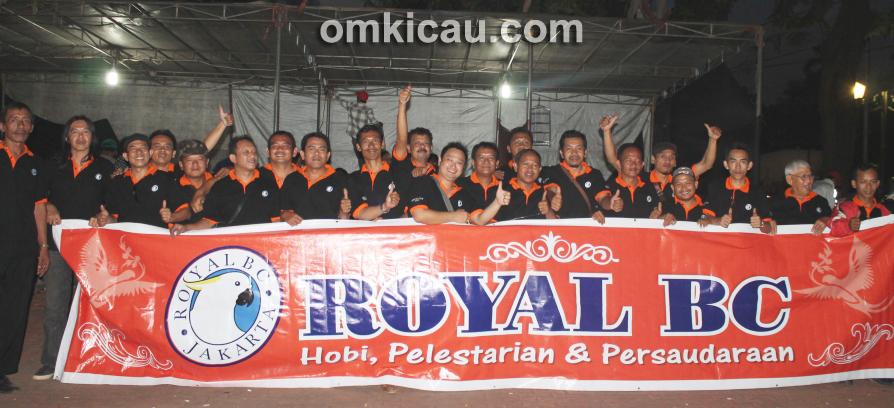 Panitia Lomba Burung Royal Cup 2013