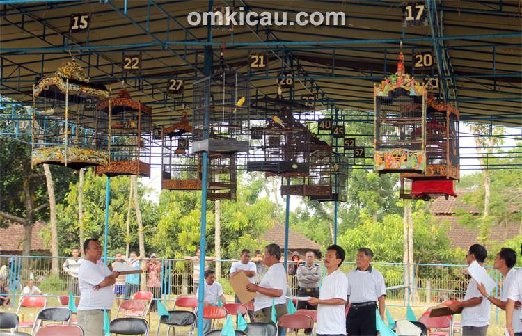Lomba Burung Gerindra Cup Semarang