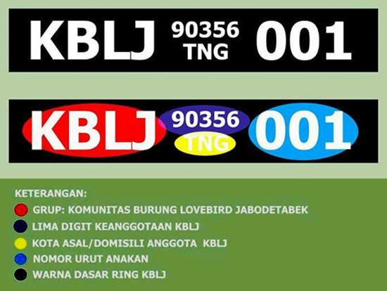 contoh kode ring KBLJ