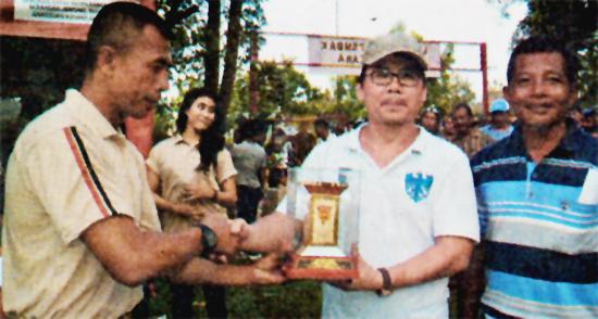 Andy Golden SF Juara umum