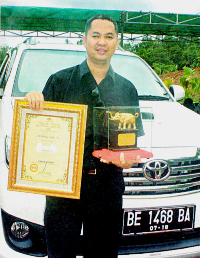 H Rico, pemilik kacer Panglima Sumatera