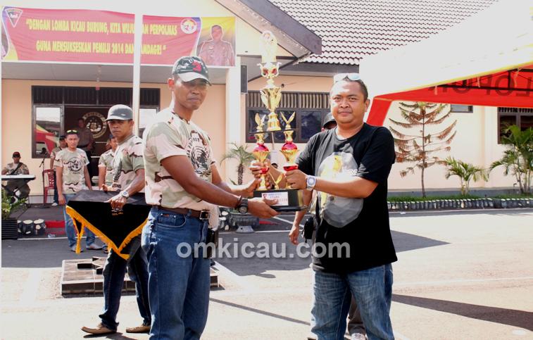 Lomba Burung HUT Ke-68 Brimob di Makassar