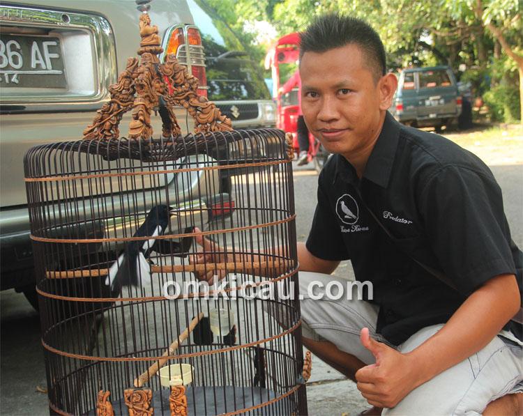 Mr Kurniawan dan kacer Lem G.