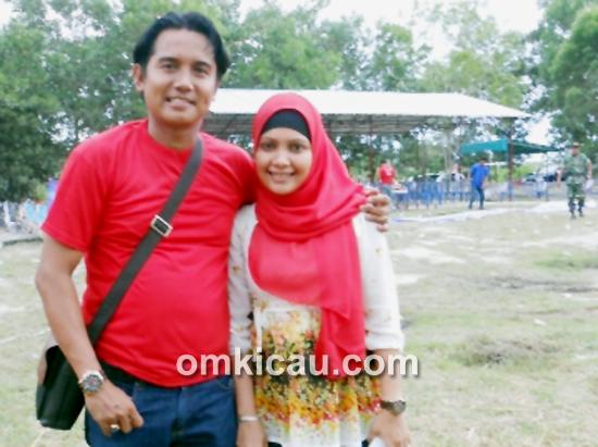 Mr Said BH dan istri