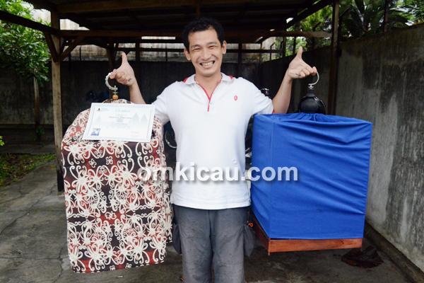 Kontes Papburi Klaten