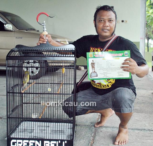 Mr Bara dan kenari Green Bell