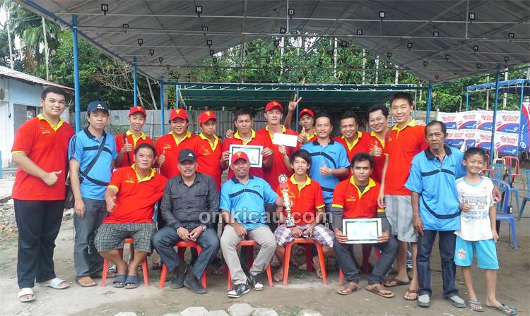 Obit BC juara umum Reagan Cup
