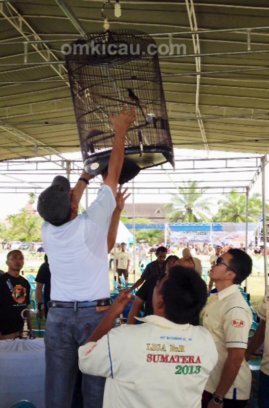 Penggantangan simbolis Liga Sumatera