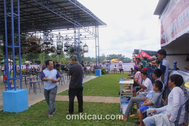 Suasana lomba Vision Cup Samarinda