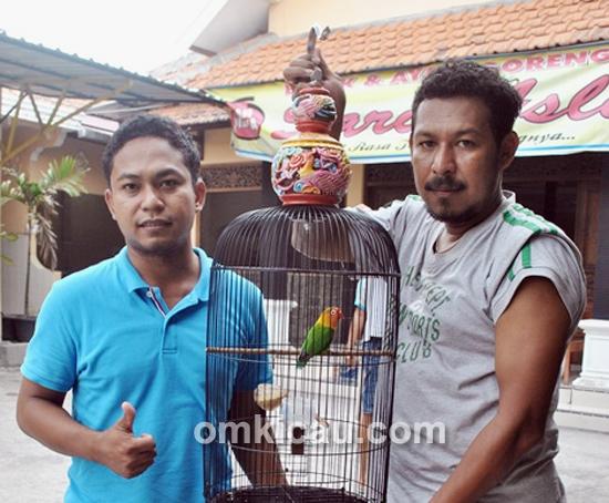 Wahyu WS dan Hervi Papua