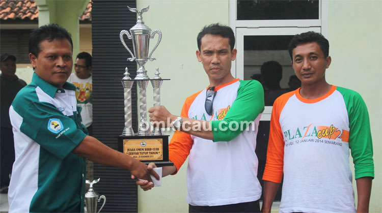 Duta Plaza Cup juara umum BC