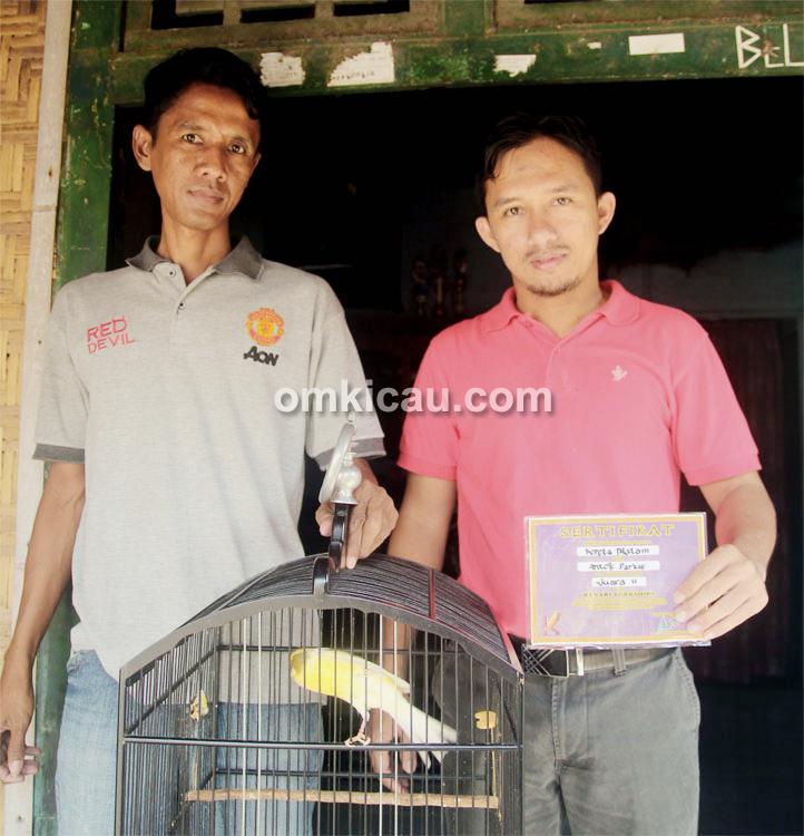 Anto Parkid (kiri) dan Alvin