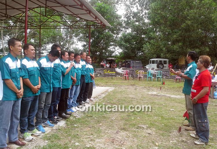 Juri lomba Liga Ronggolawe Sumatera Seri I