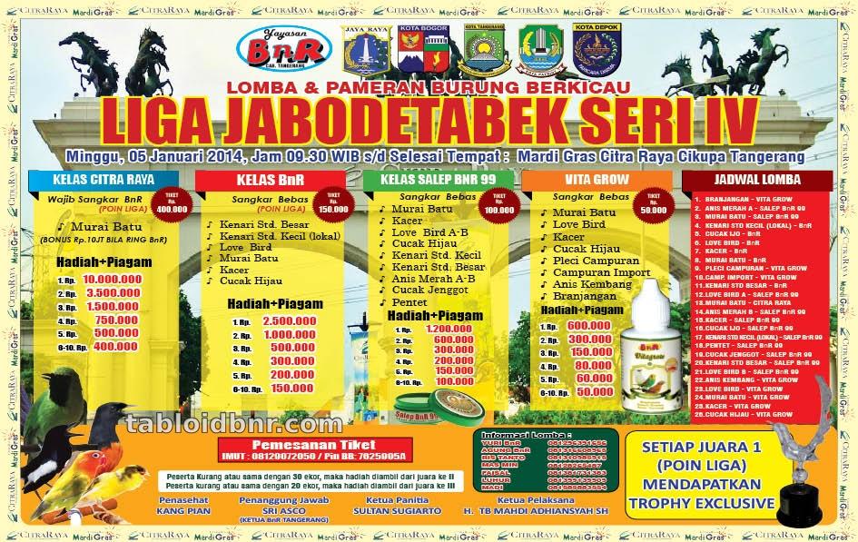 Liga BnR Jabodetabek Seri IV