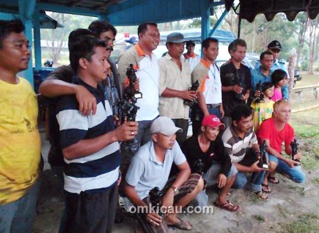 beberapa peserta dari sampit dan Banjarmasin