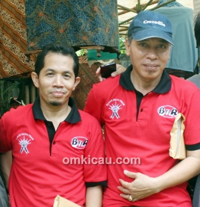 H Fahmi dan H Fathulloh - Taman Radja Jakarta