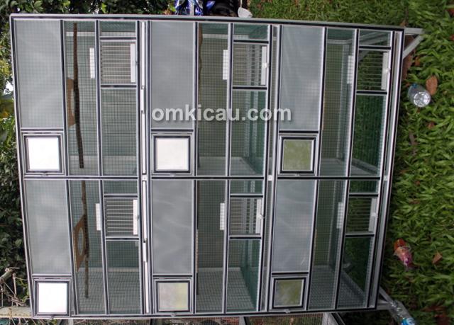 Produk kandang ternak burung Jaya Alumunium