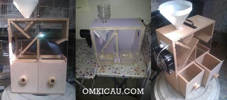 Beberapa model peralatan pemisah biji