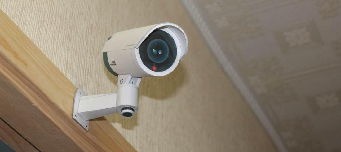 Kamera CCTV yang dibuat dengan menggunakan kertas, sangat mirip bukan ?