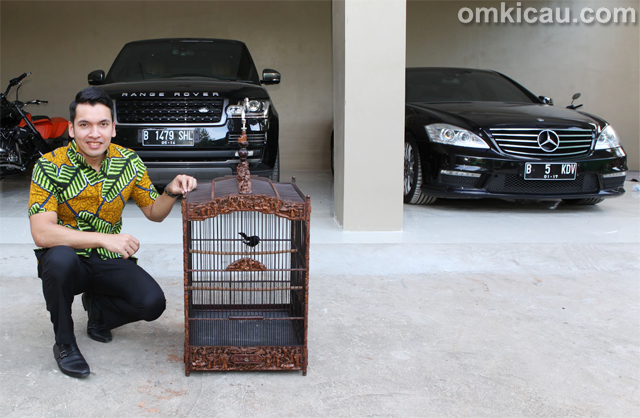 Khadafi dan kacer Rincong Aceh
