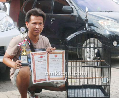 Mr Kurniawan dan kacer Roll Speed