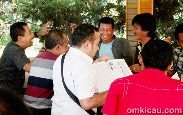 Silaturahmi kicaumania Sumatera Barat
