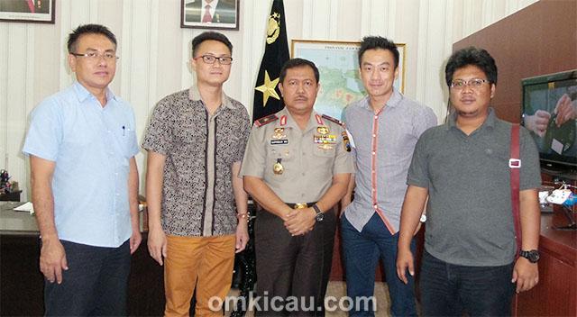 Brigjen Pol Suprojo dan Panitia Ebod Jaya Cup