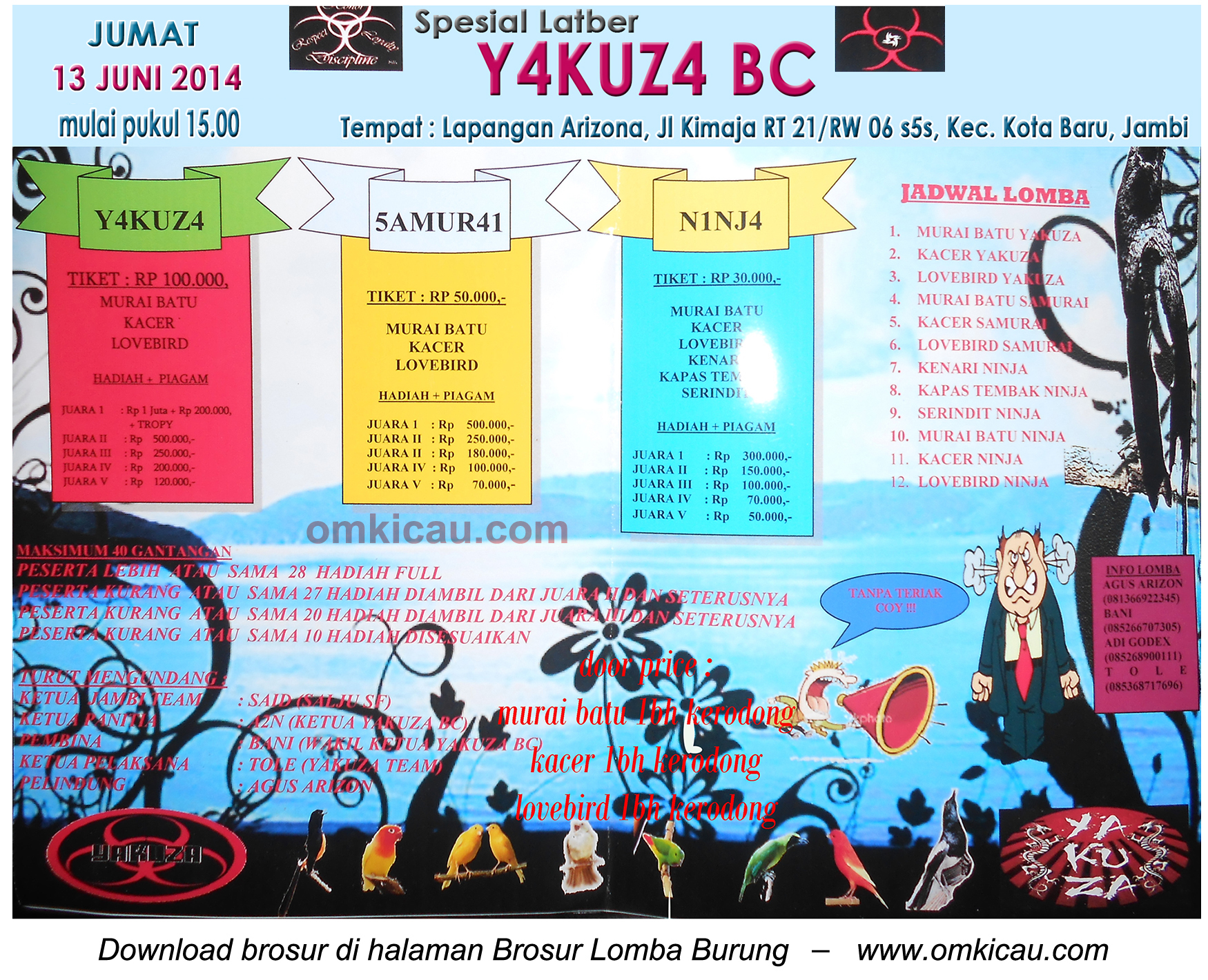 Latber Yakuza BC Jambi 13 Juni 2014