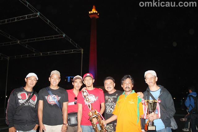 Jakayakarta Team juara umum BC