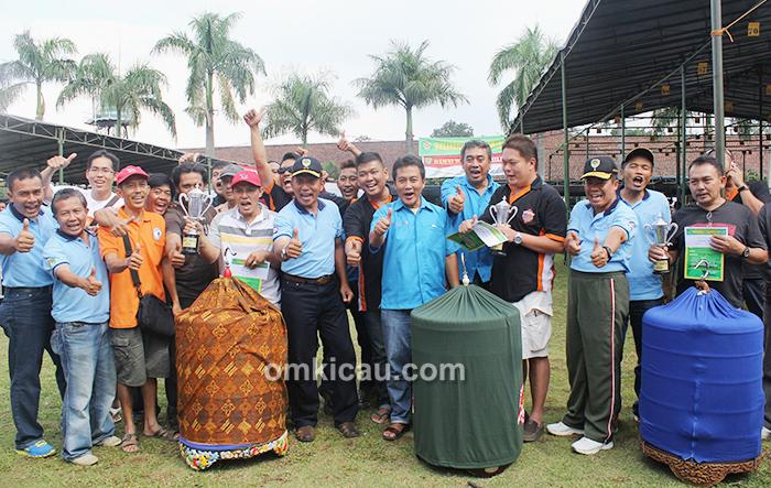 Juara kelas murai batu Pangdam III Siliwangi Cup