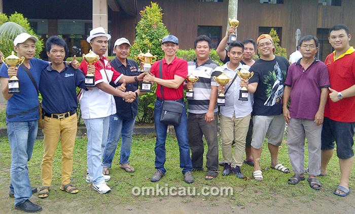 Obit BC Jambi juara umum