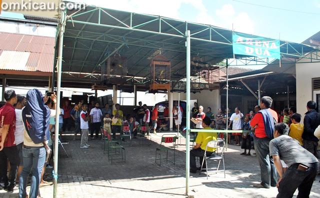 Lomba burung Wali Kota Cup Magelang