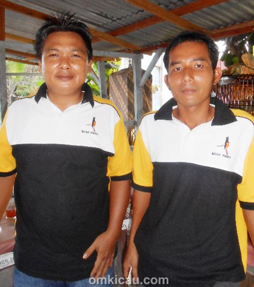 zoel bakung (ketua) dan yusabar (wakil ketua) lapangan bakung