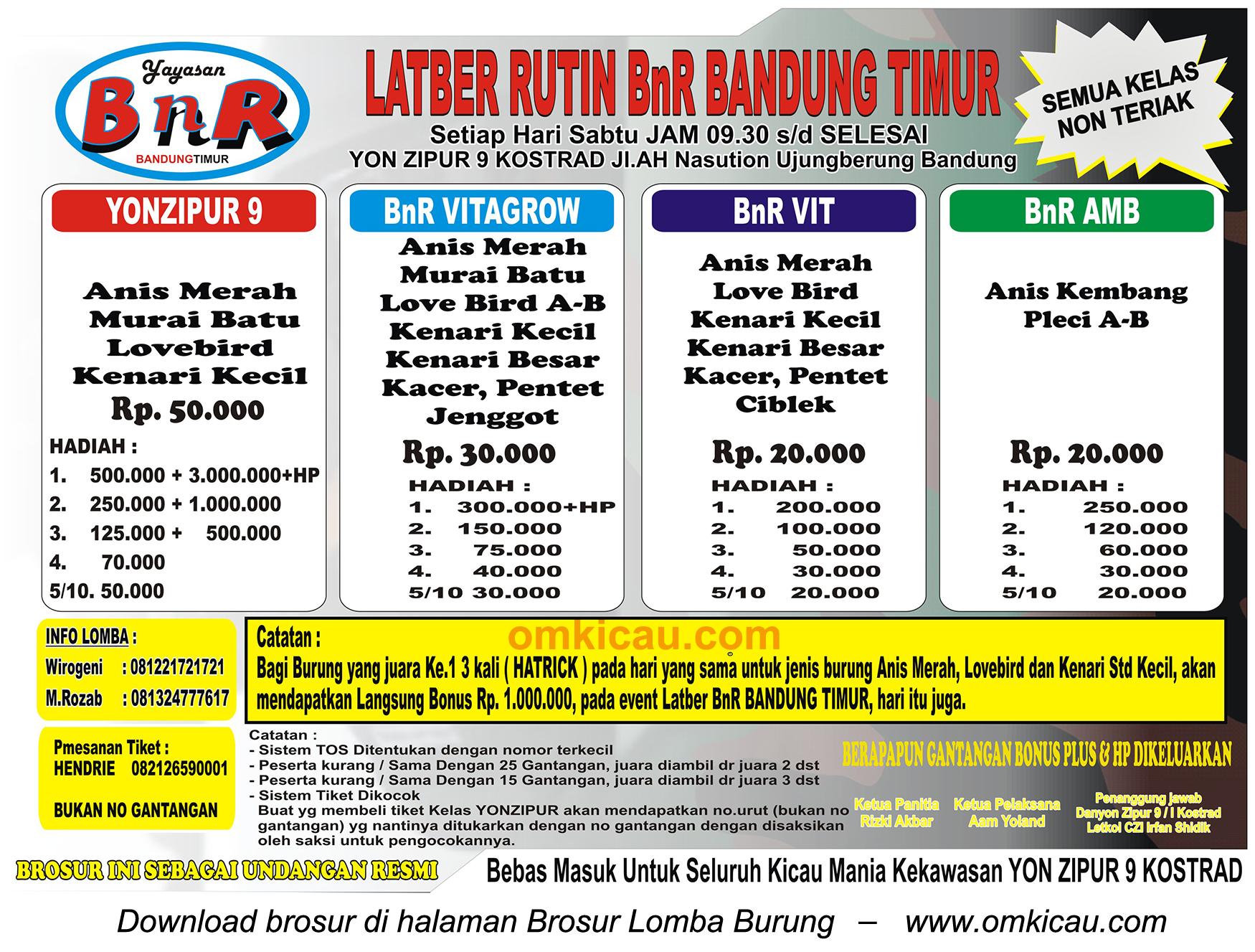 Latber Rutin BnR Bandung Timur