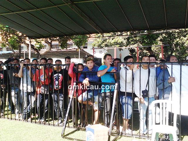 Suasana lomba Ebod Jaya Cup