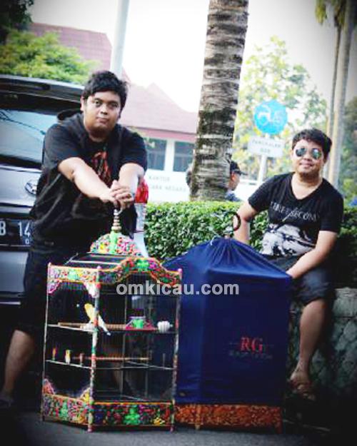 Fahmi dan Bayu Bintang Jagad SF