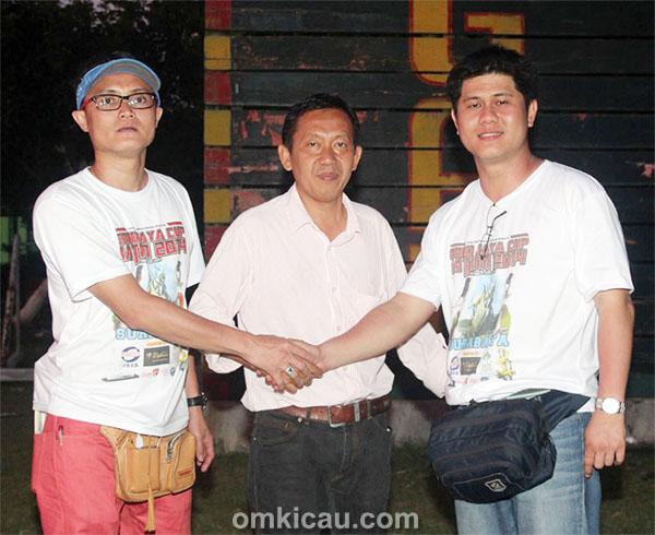 Jimmy DS, Eko CIkande, dan WW Angga