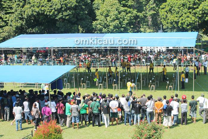 Lomba Burung Gubernur Jawa Barat Cup