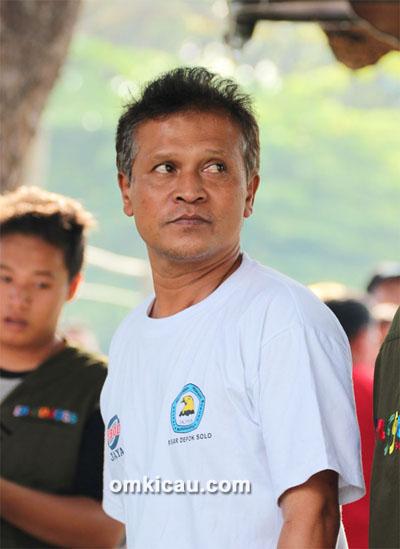 Om Warjo, ketua IKPBS Solo,