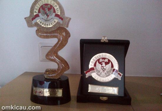 Trofi kemenangan MB Panglima