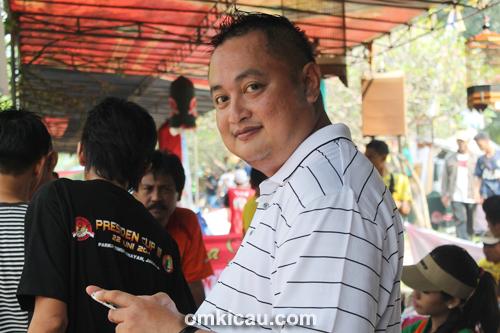 Andre SAS, ketua Jayakarta Team