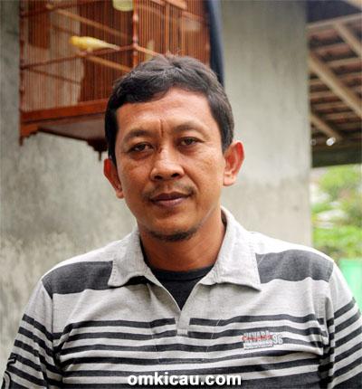 Om Heri Dua Dewi, ketua Papburi Klaten